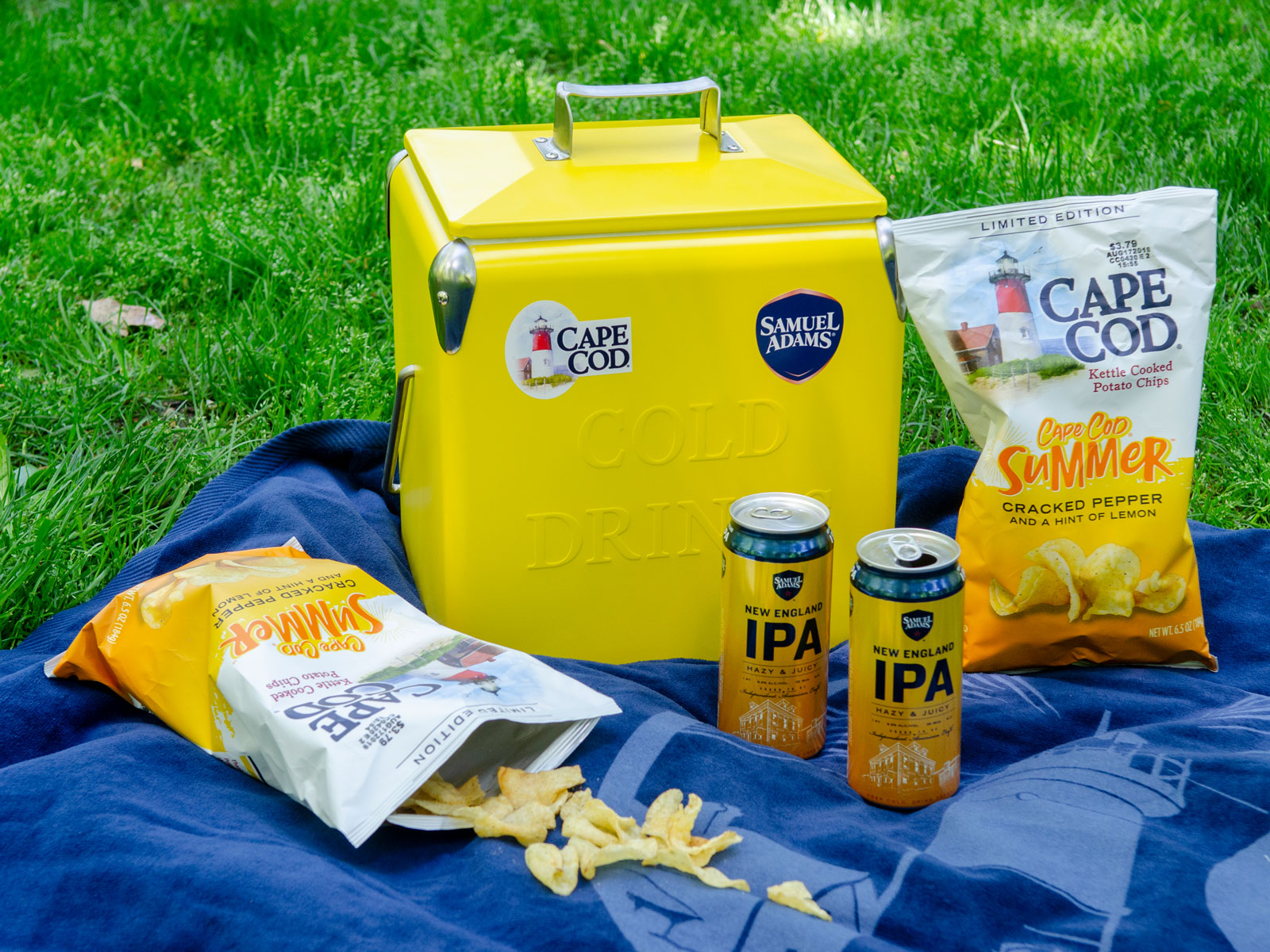 Cape Cod and Sam Adams Collaborated on Potato Chip Flavor That Pairs with a New England IPA