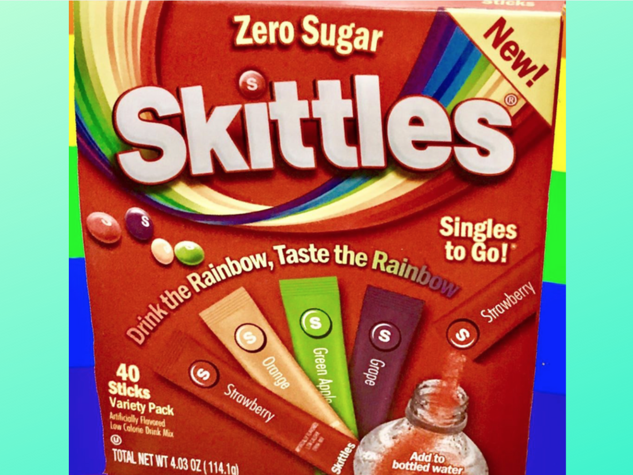 This New Skittles Singles Drink Mix Will Turn Your Water Into Candy