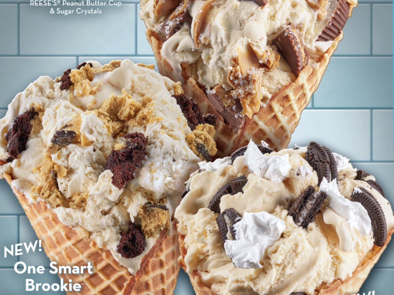 Stop What You're Doing, Cold Stone's Three New Cookie Dough Flavors Are Here