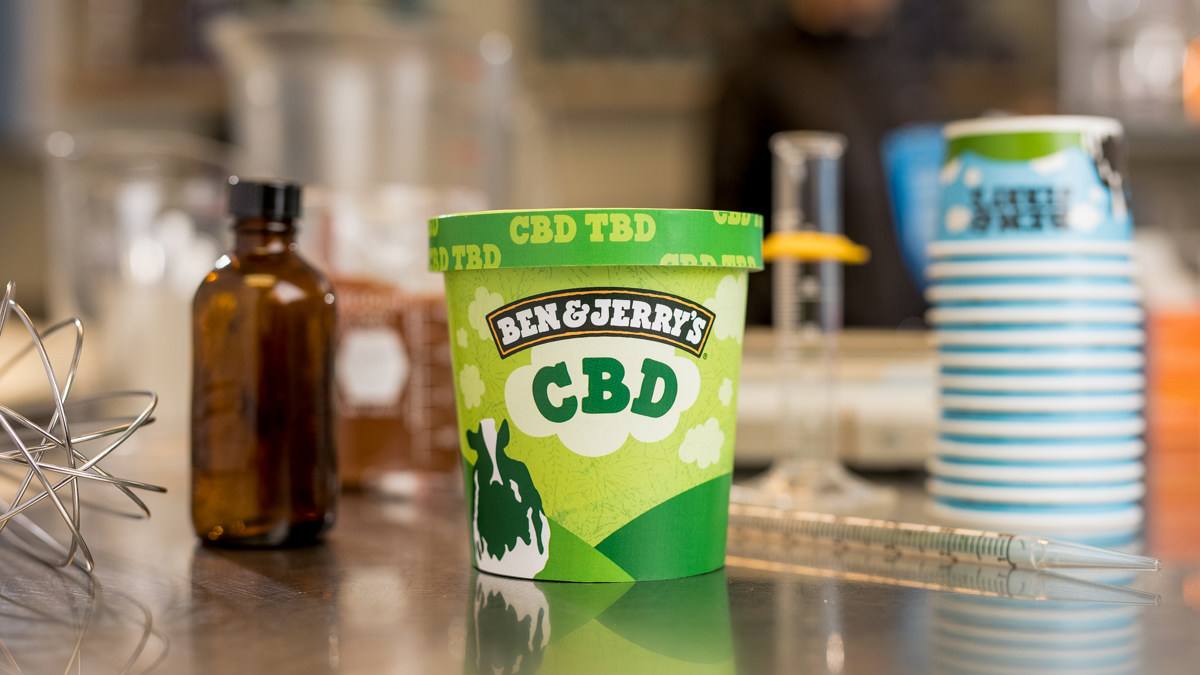 Ben & Jerry's Wants to Add CBD to Its Ice Cream
