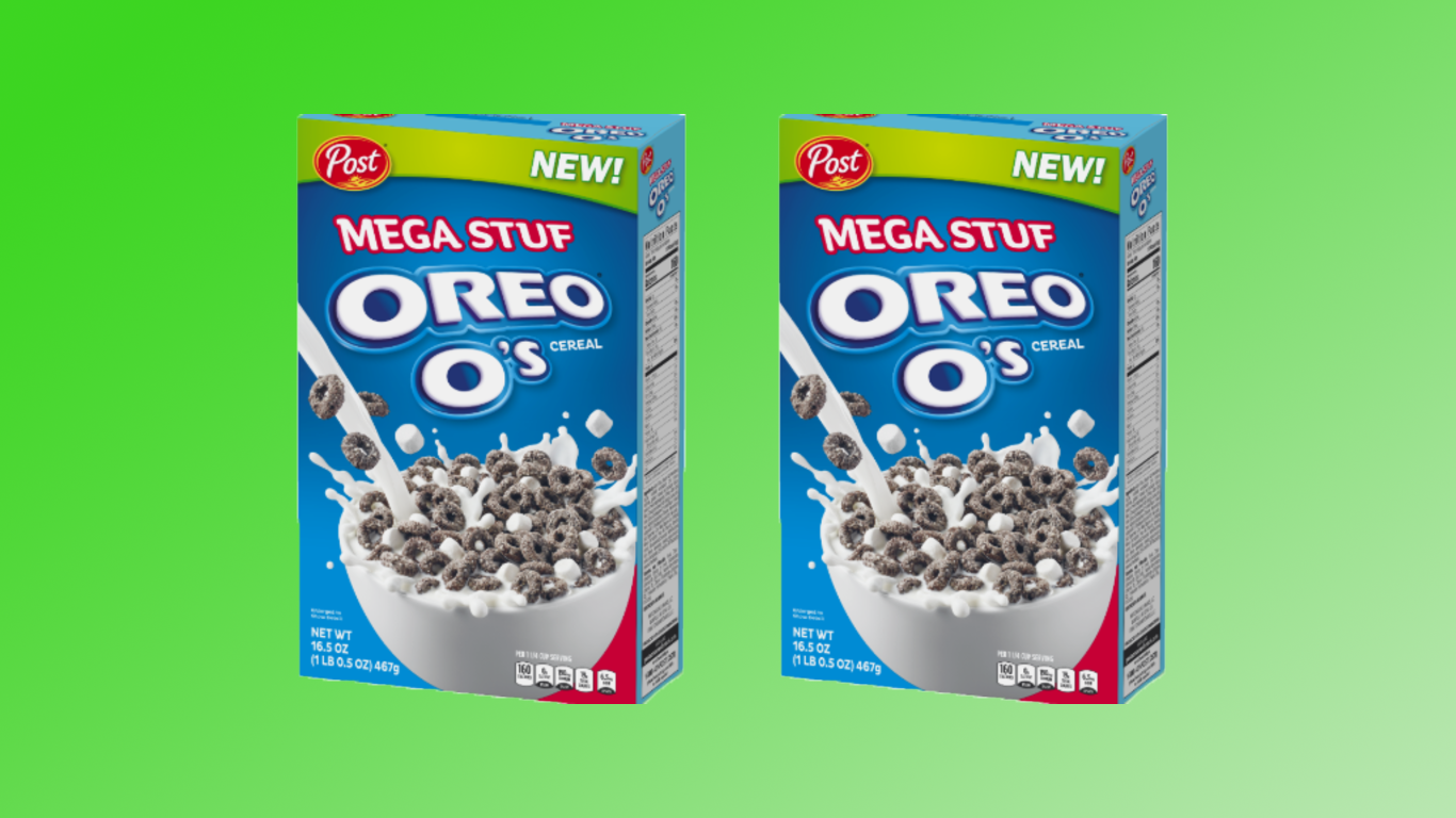 Mega Stuf Oreo Cereal Is Coming to a Bowl Near You