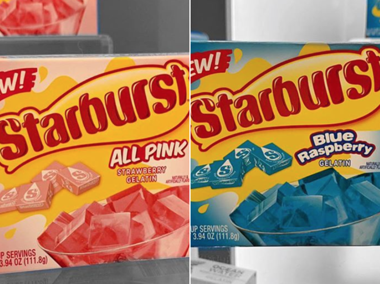 Attention, Jell-O Lovers: Starburst Gelatin Is Happening