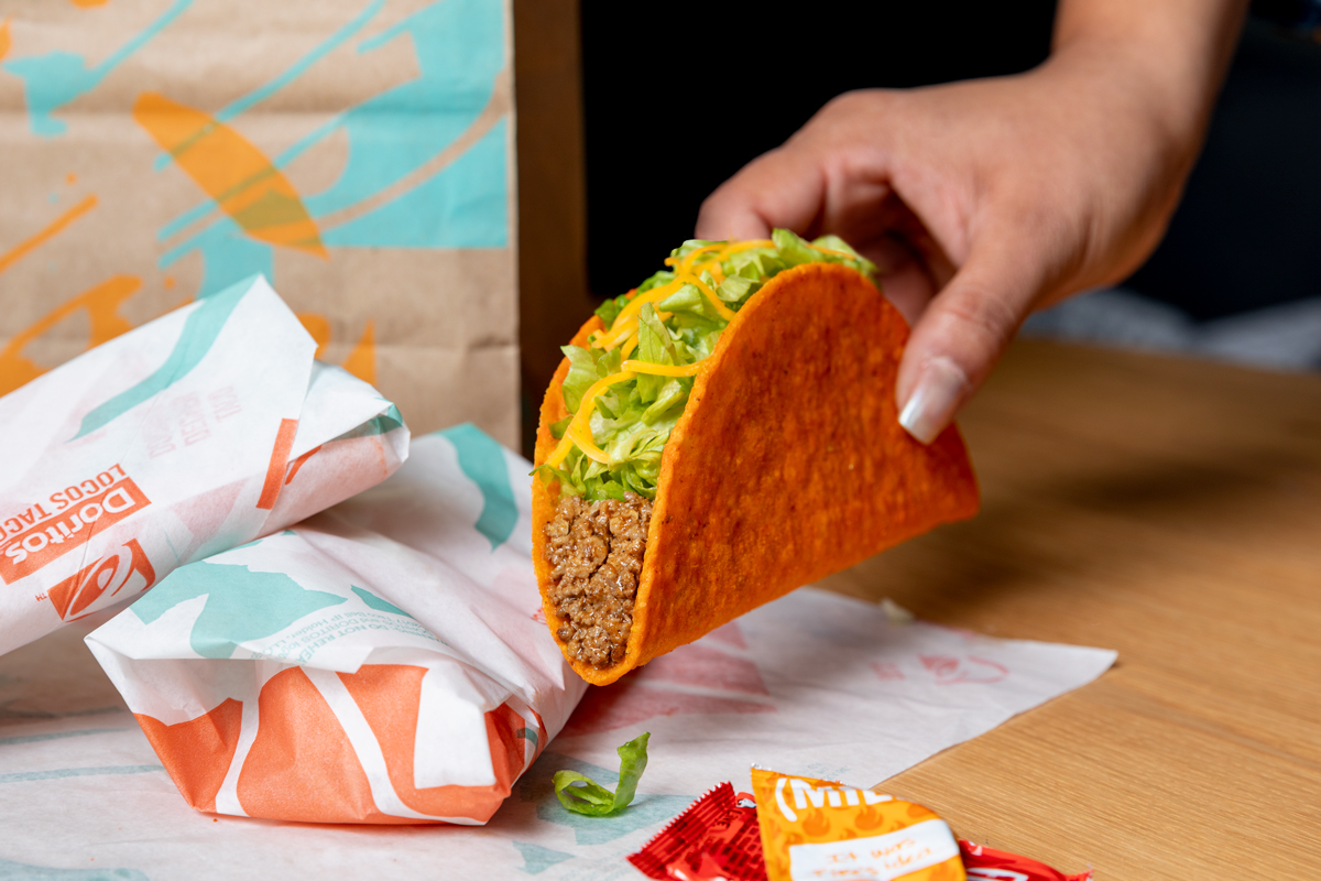 Taco Bell Is Giving Away Free Doritos Locos Tacos On June 18