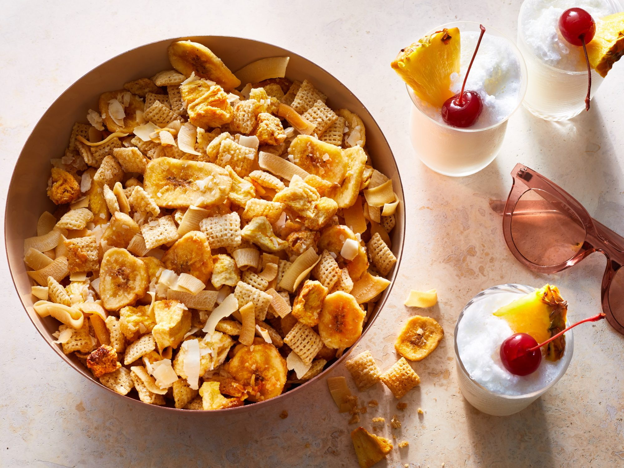 Piña Colada Snack Mix