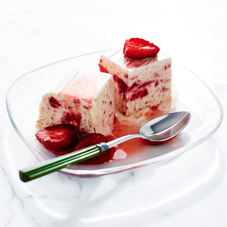Strawberry Semifreddo Recipe - 0 | MyRecipes.com