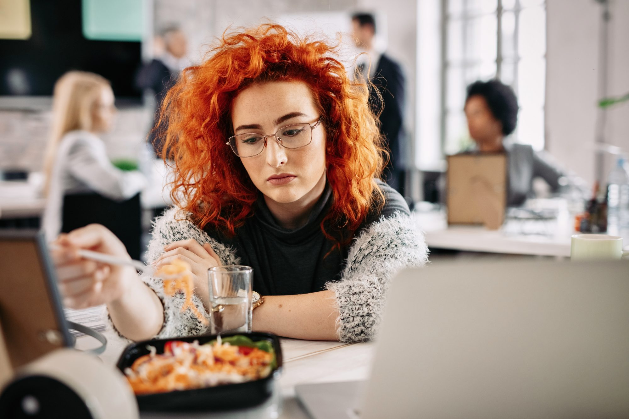 Millennials Want Lunch Breaks, But Can't Take Them