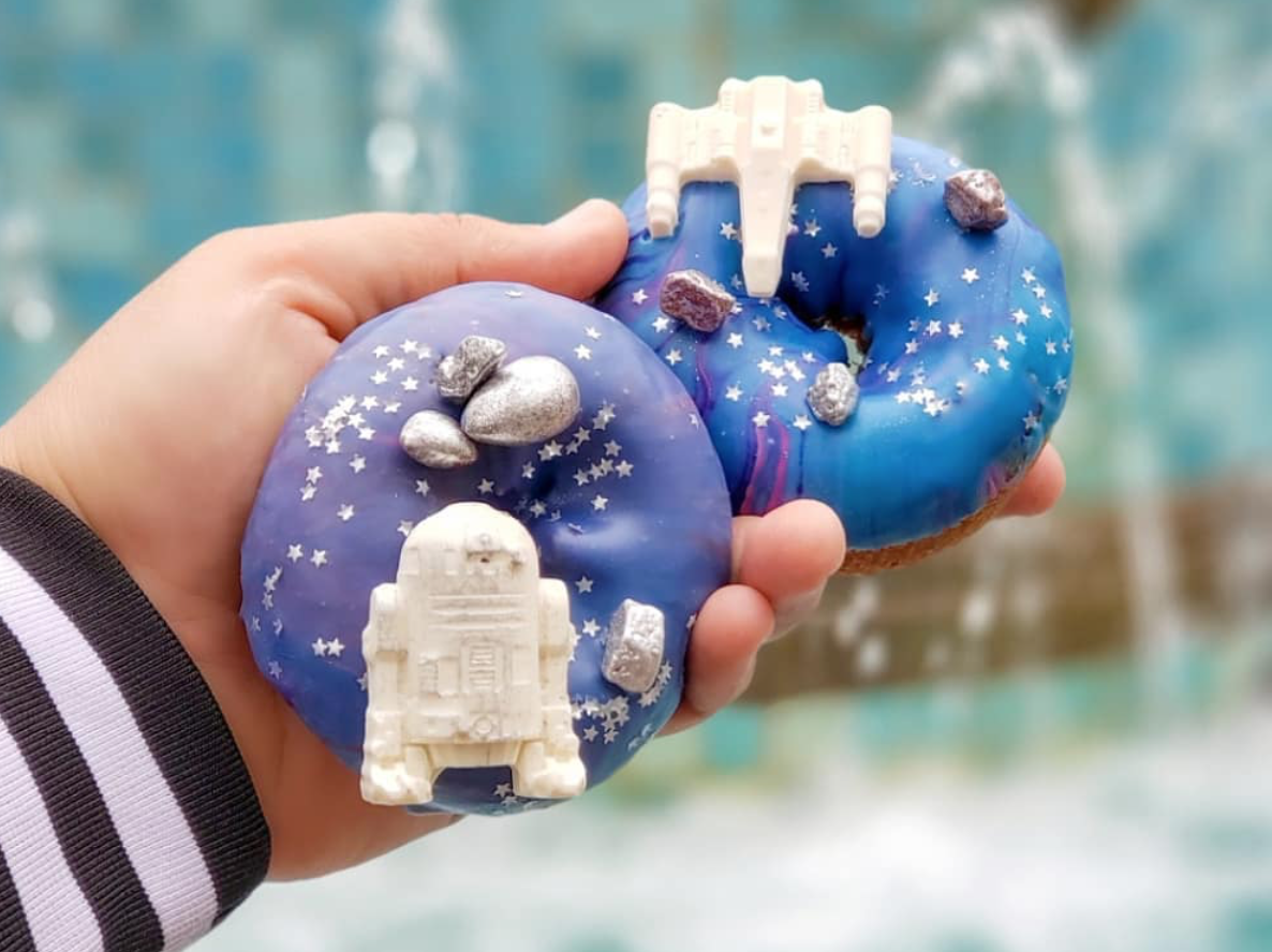 'Star Wars' Fans Are Going to Freak Out Over Disney's New Doughnuts