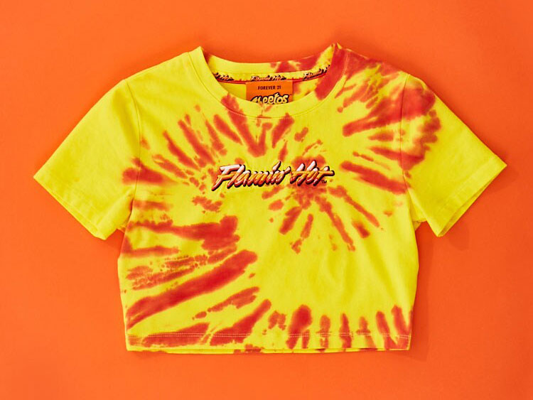 Forever 21 and Cheetos Just Launched a Flamin' Hot Collection