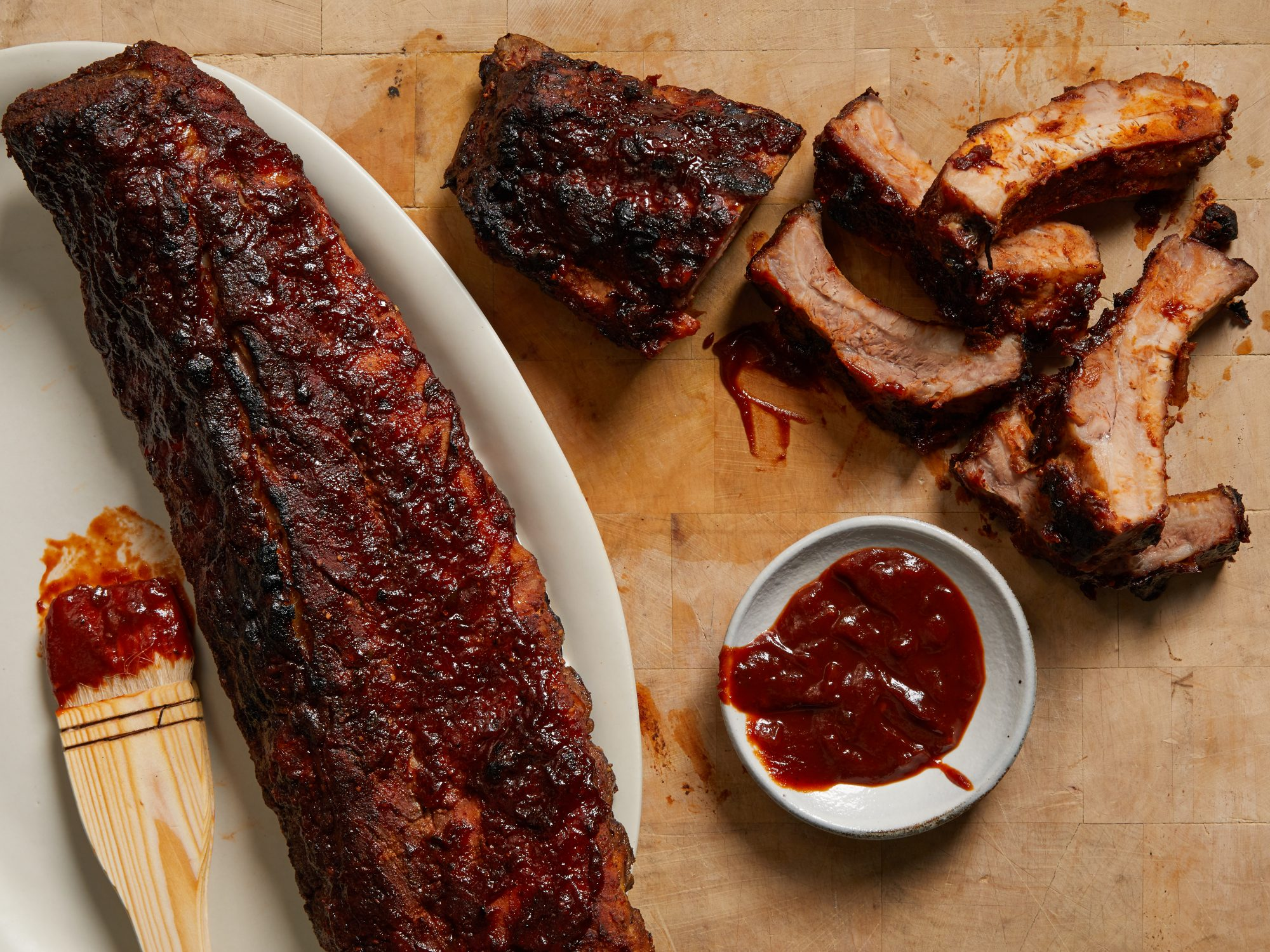 Pork ribs in the oven - recipe for the holiday