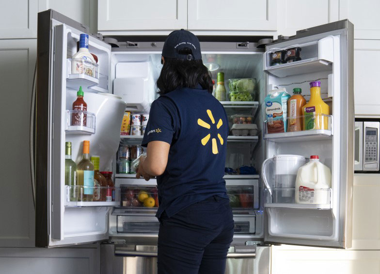 Walmart Wants to Deliver Groceries Directly Into Your Fridge