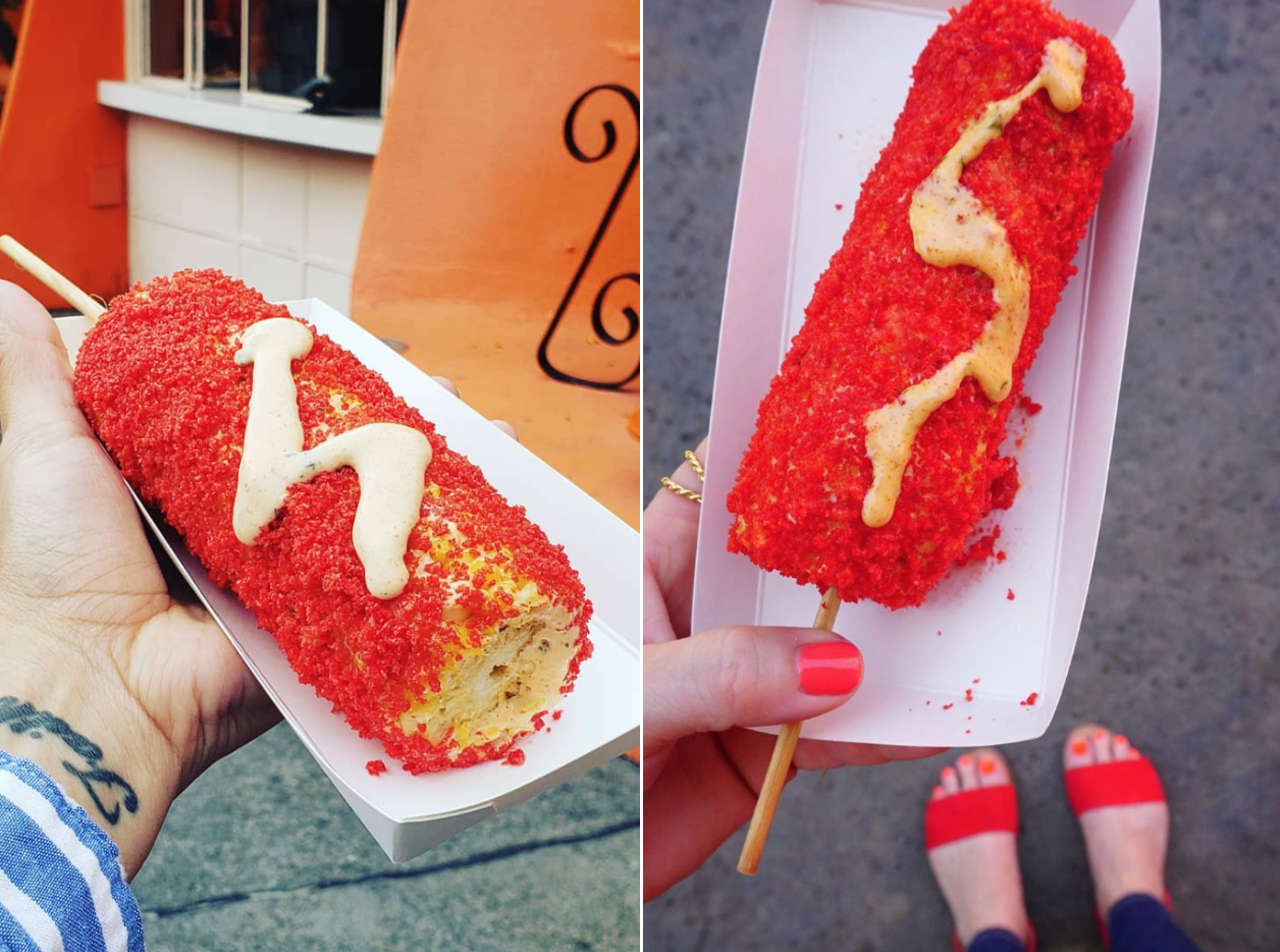 Disney's New Corn on the Cob Is Covered in Flamin' Hot Cheetos Dust
