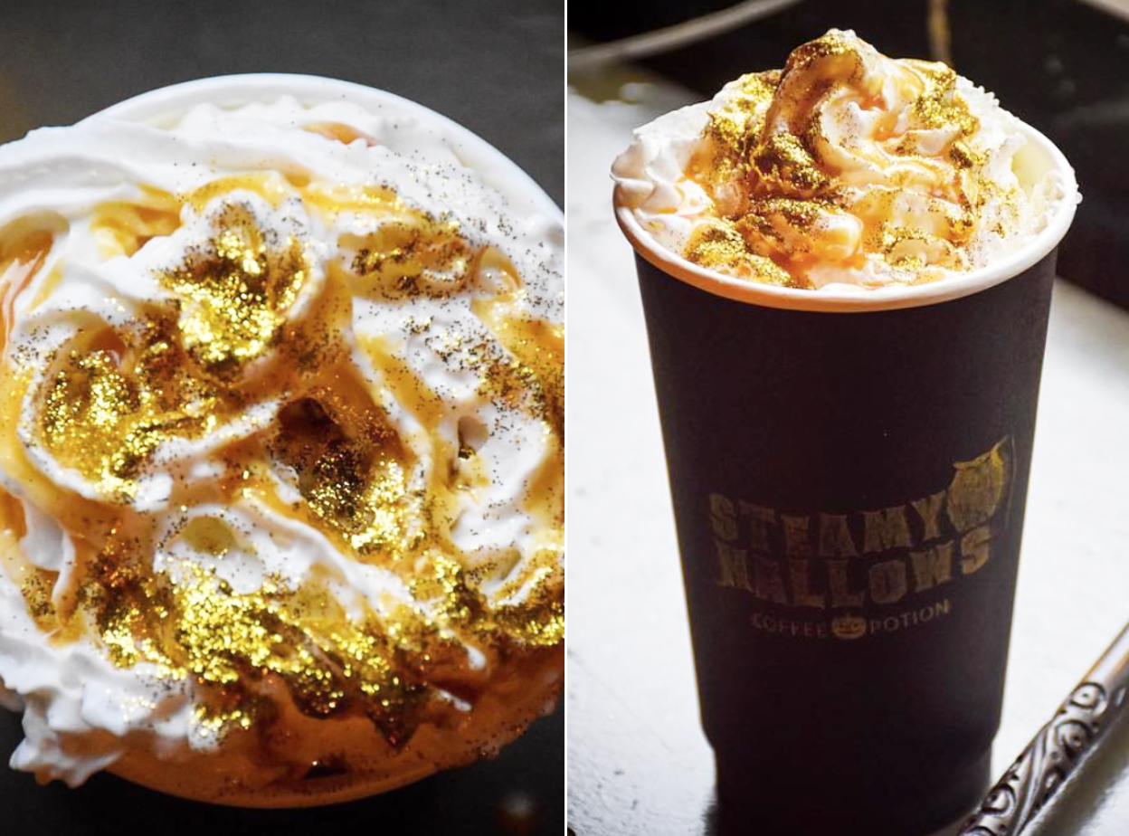 This Harry Potter-Themed Café Is Serving Glitter Butterbeer