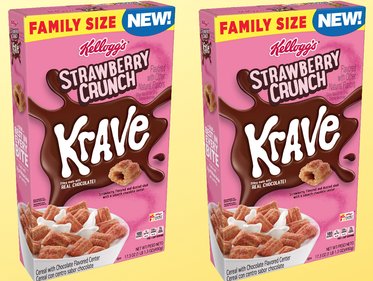 This New Cereal Is Made for People Who Love Chocolate-Covered Strawberries