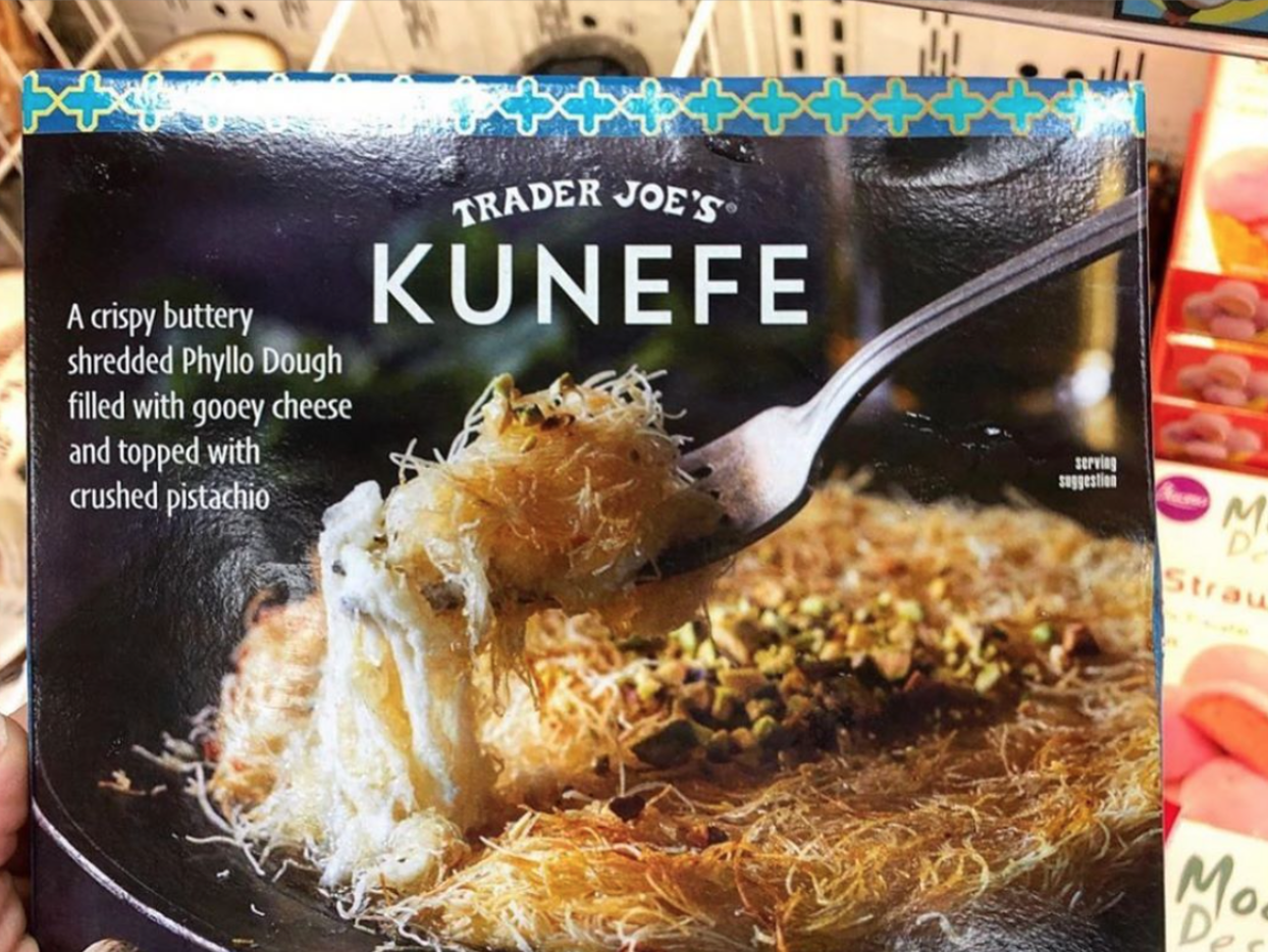 Trader Joe's Is Selling Kunefe, a Super Cheesy Middle Eastern Dessert
