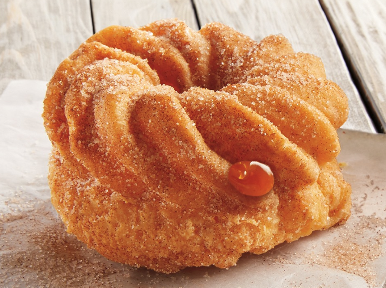 Look at This Gorgeous Churro Doughnut Filled With Caramel