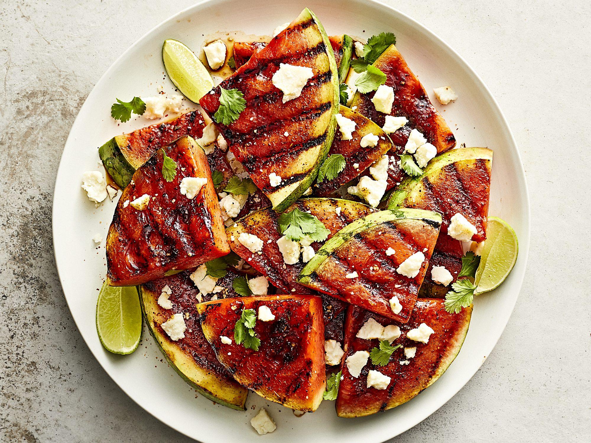 mr-Spicy Grilled Watermelon