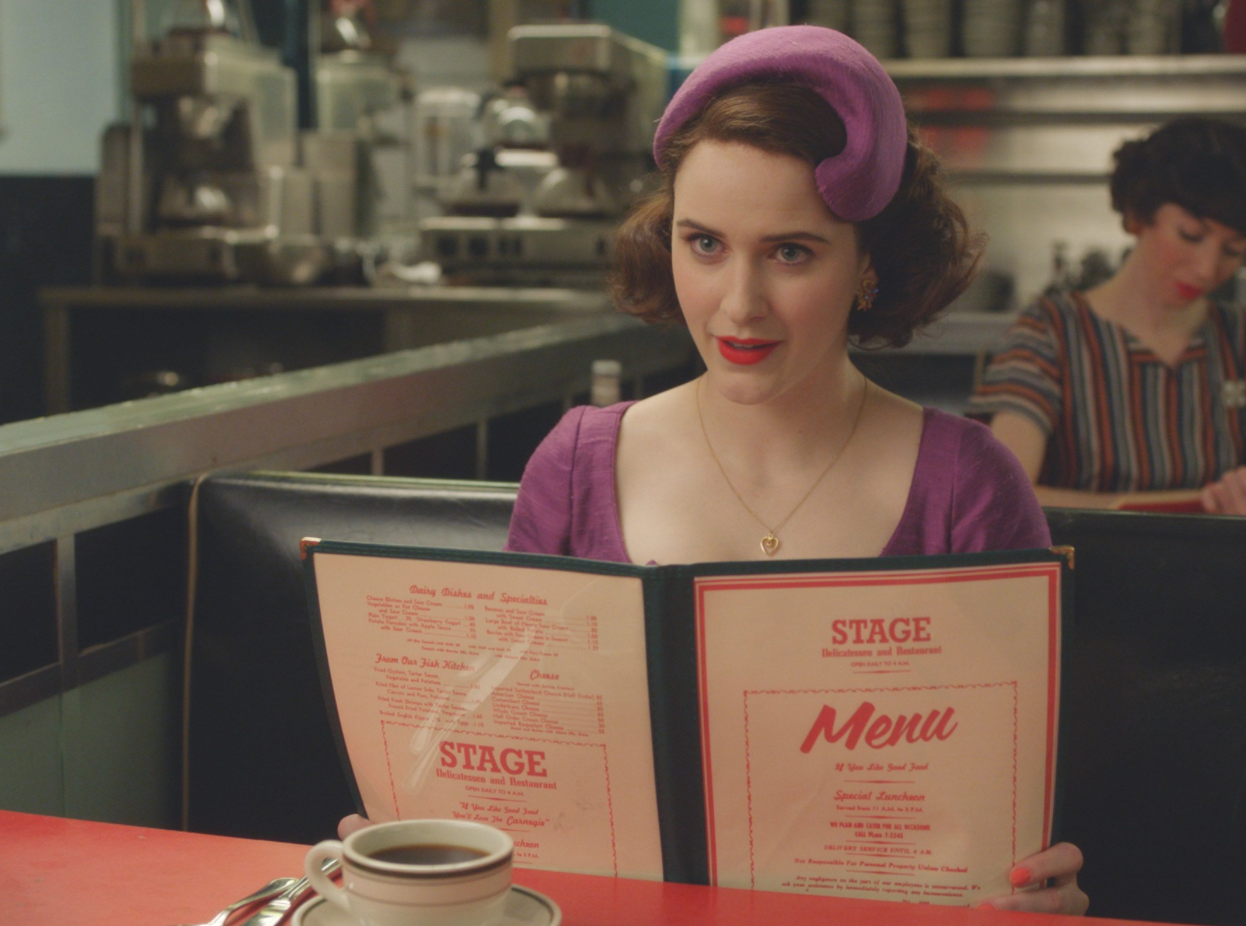 Postmates Is Delivering Free 'The Marvelous Mrs. Maisel' Meal Packs