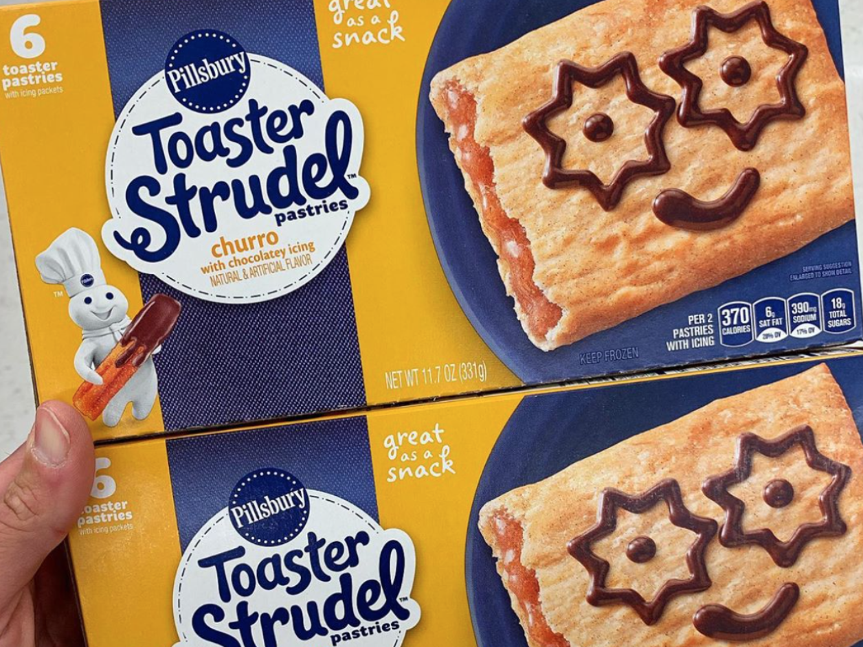 This New Churro Toaster Strudel Looks Almost Too Good to Be True