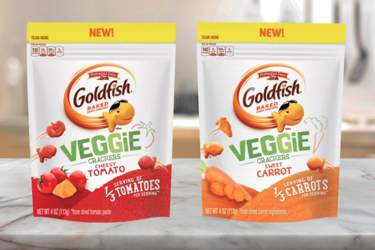 Goldfish Veggie Crackers Are the Healthy(ish) Snack We've Been Waiting For