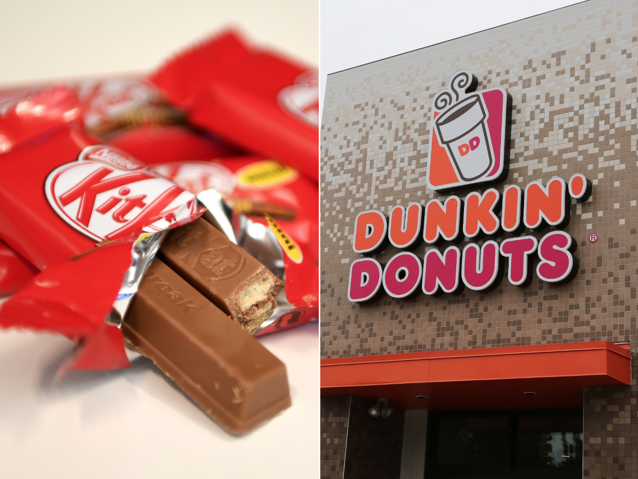 Dunkin' Might Be Adding a Kit Kat Drink to Its Menu