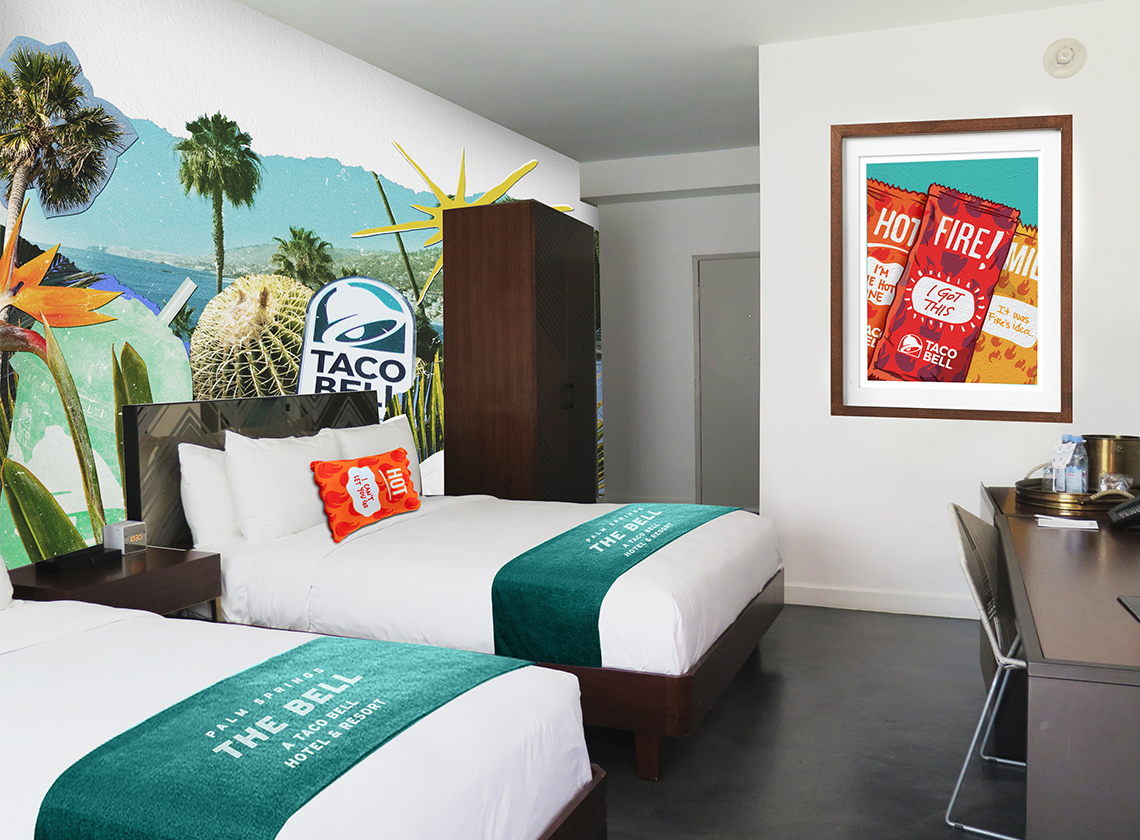 How to Reserve Your Spot at the Taco Bell Hotel taco-bell-hotel-double-FT-BLOG0619