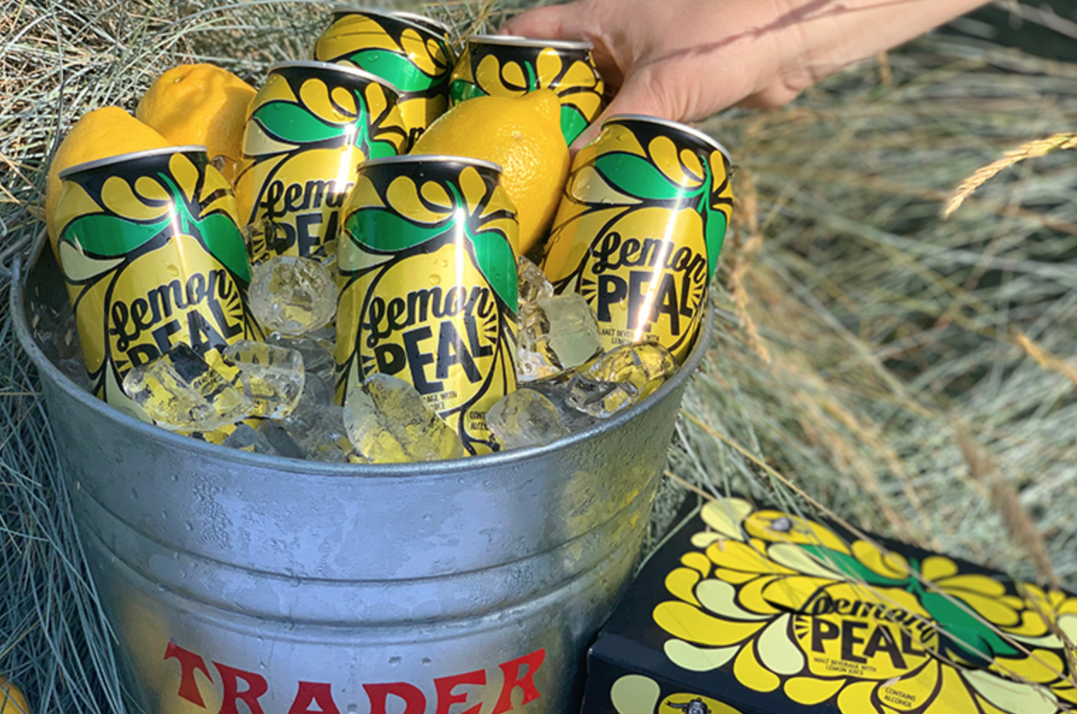 Trader Joe's Just Debuted Hard Lemonade in a Can