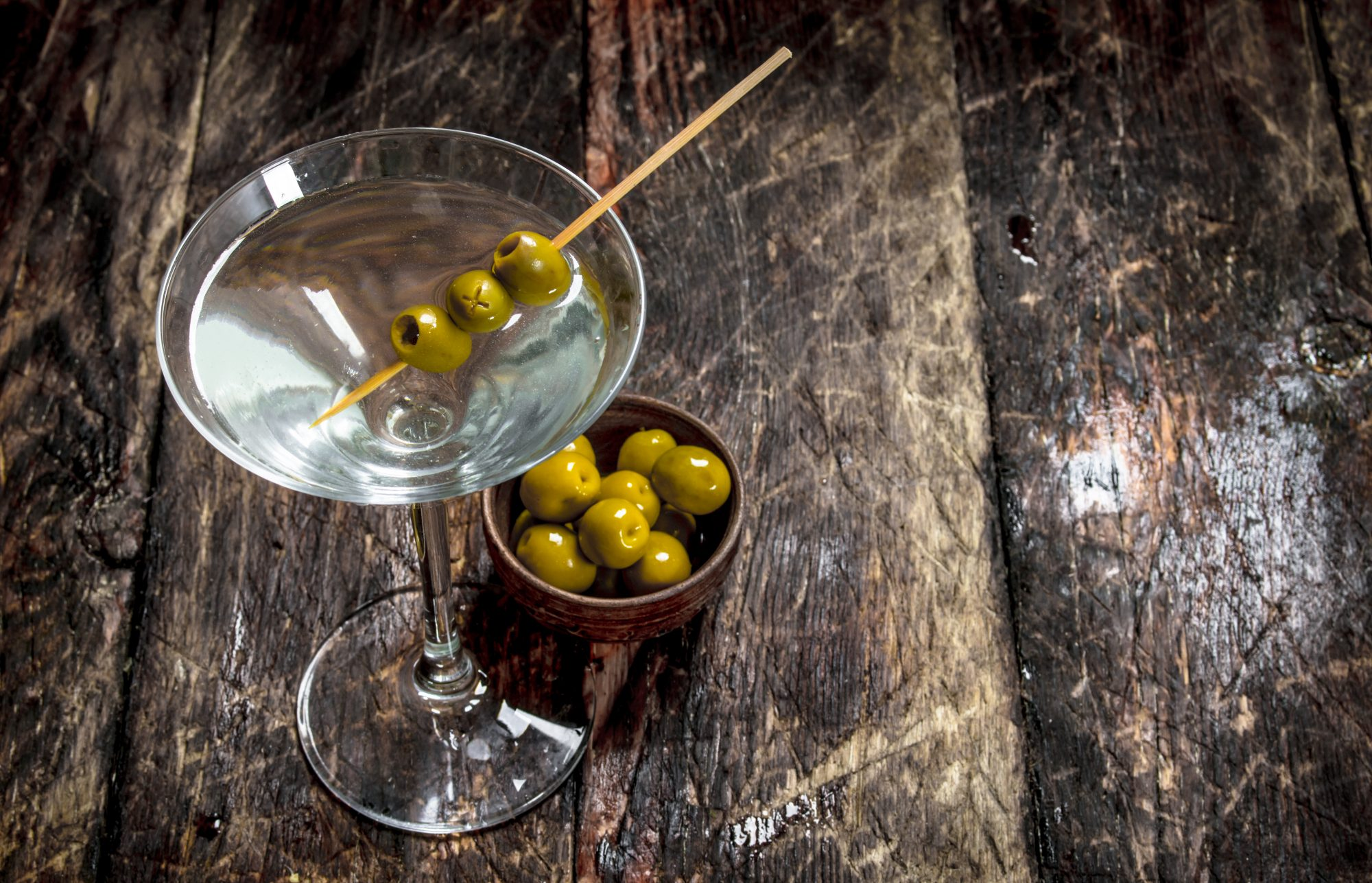 Soak Your Olives in Booze for the Ultimate Summer Snack