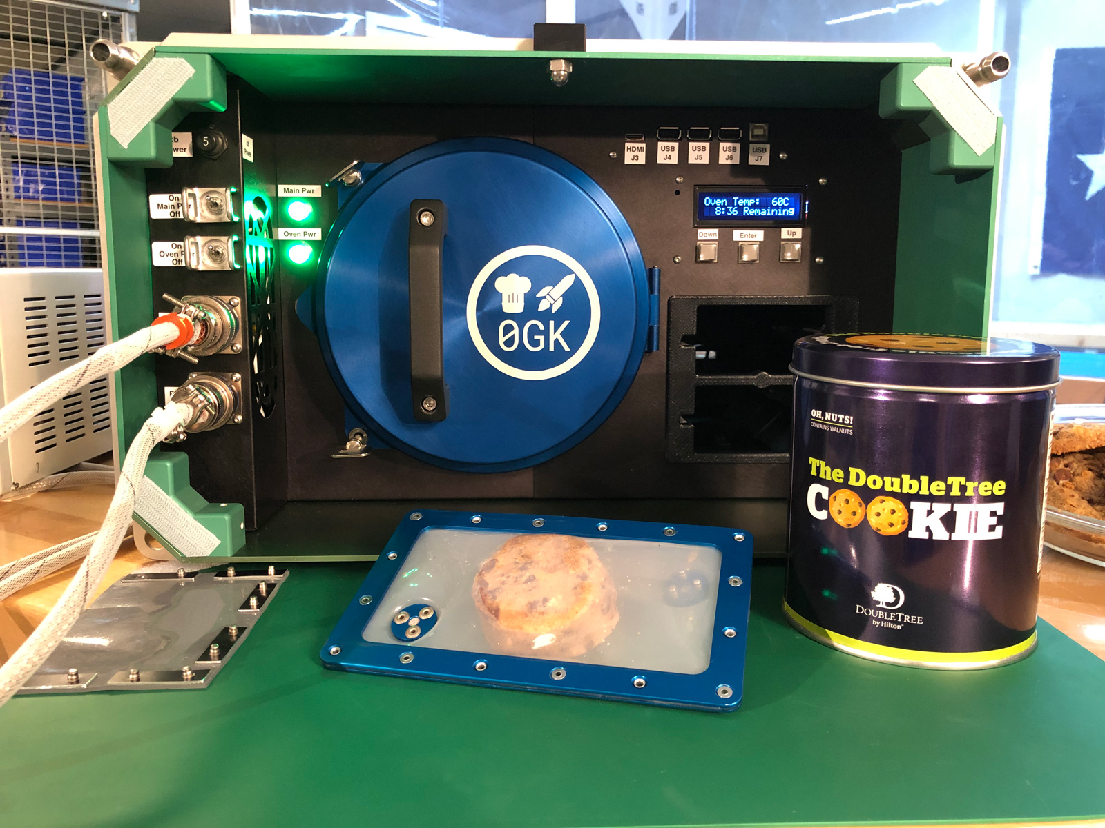 The First Cookie Ever Baked in Space Comes Courtesy of This Hotel Chain Zero-G-Kitchen-Space-Oven-FT-BLOG0619