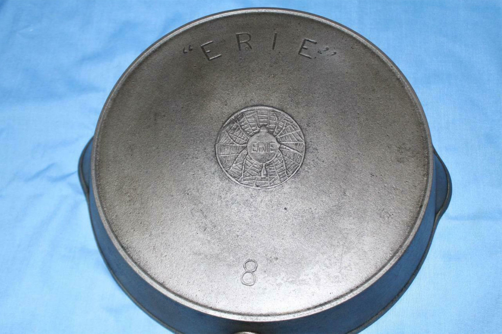 Erie Spider Skillet Stamp