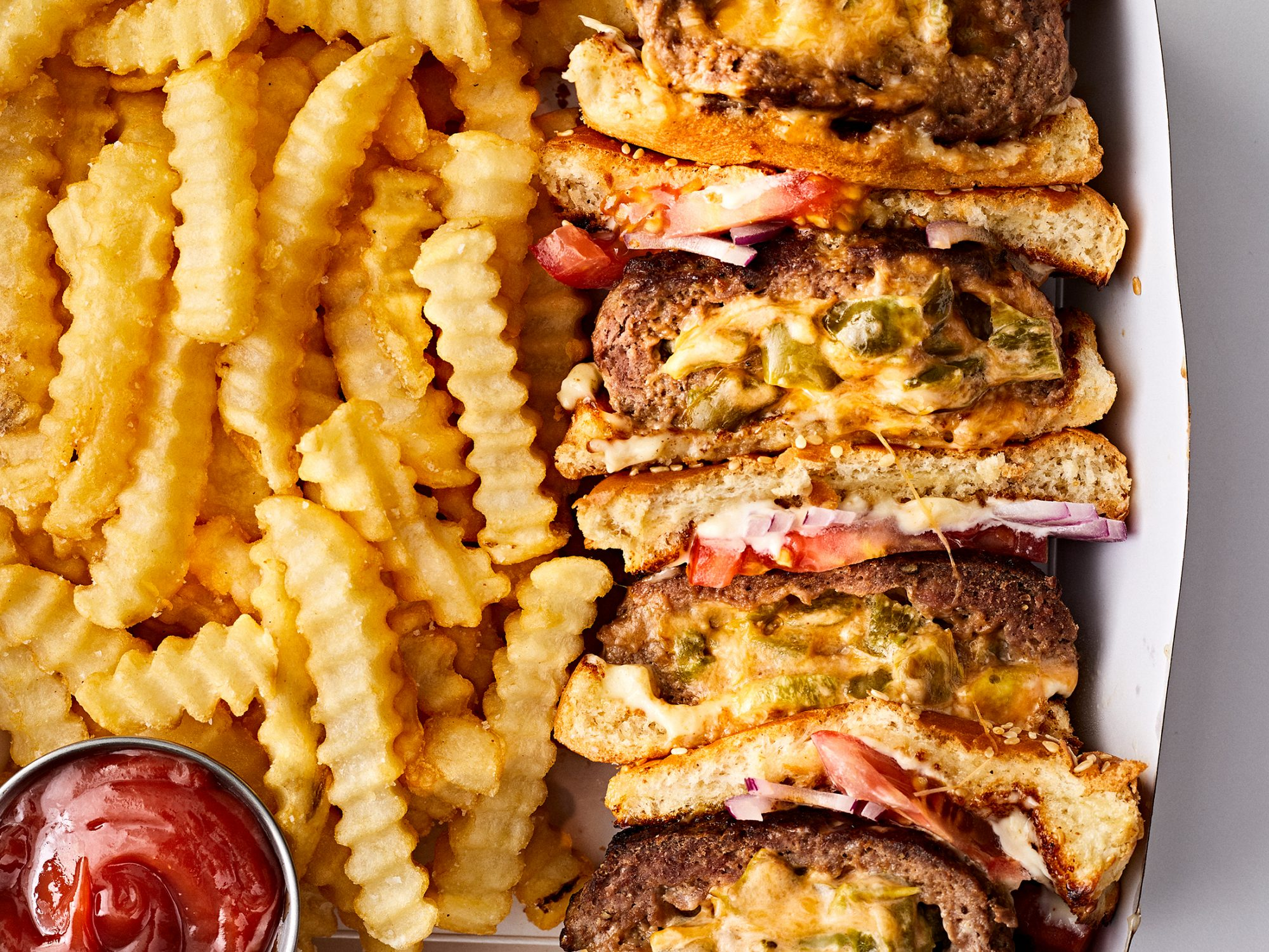 Jalapeño Popper Stuffed Burgers