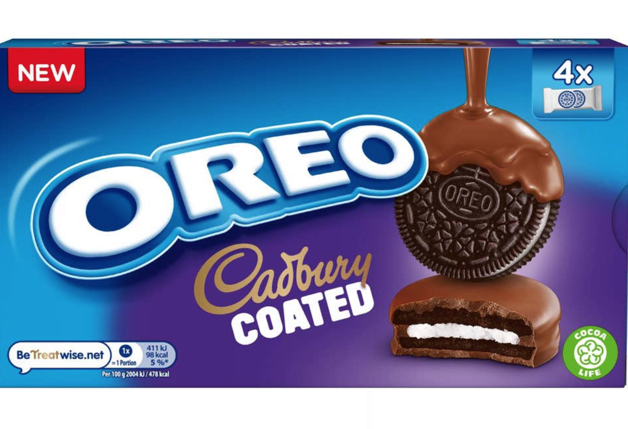 FYI: Oreos Coated In Cadbury Chocolate Exist