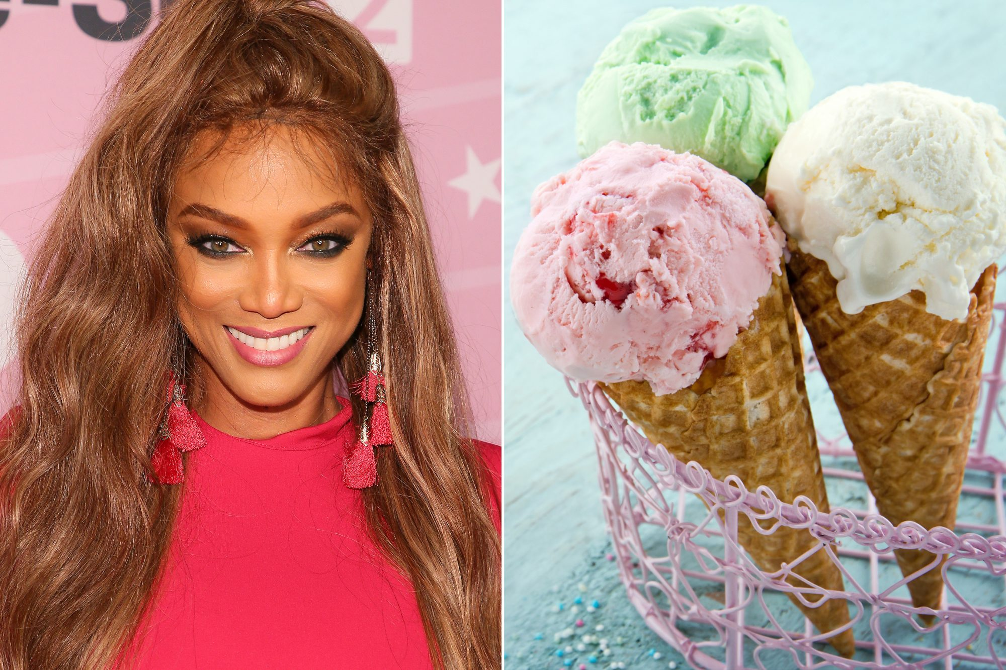 Tyra Banks Is Trying to Trademark 'Smize' Ice Cream