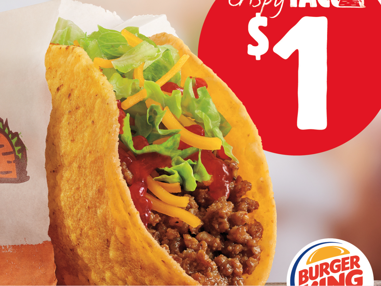 Burger King Is Launching a $1 Crispy Taco