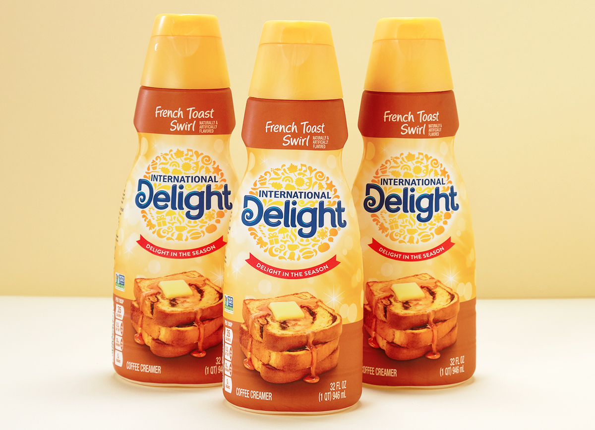 We Tried International Delight's New French Toast Swirl Creamer
