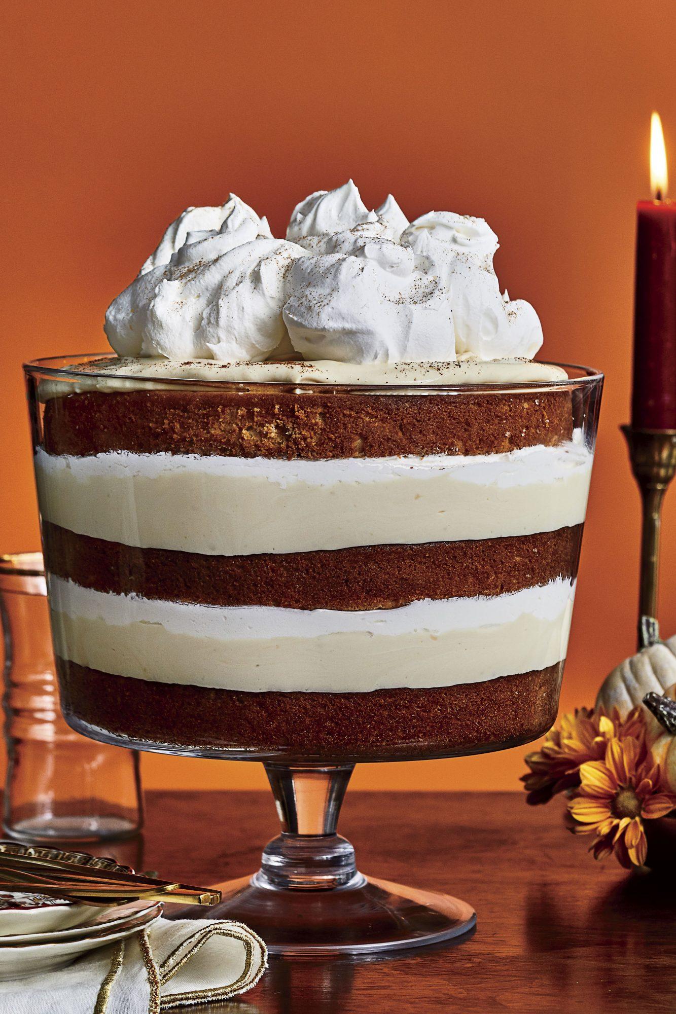 Butterscotch-Spice Trifle