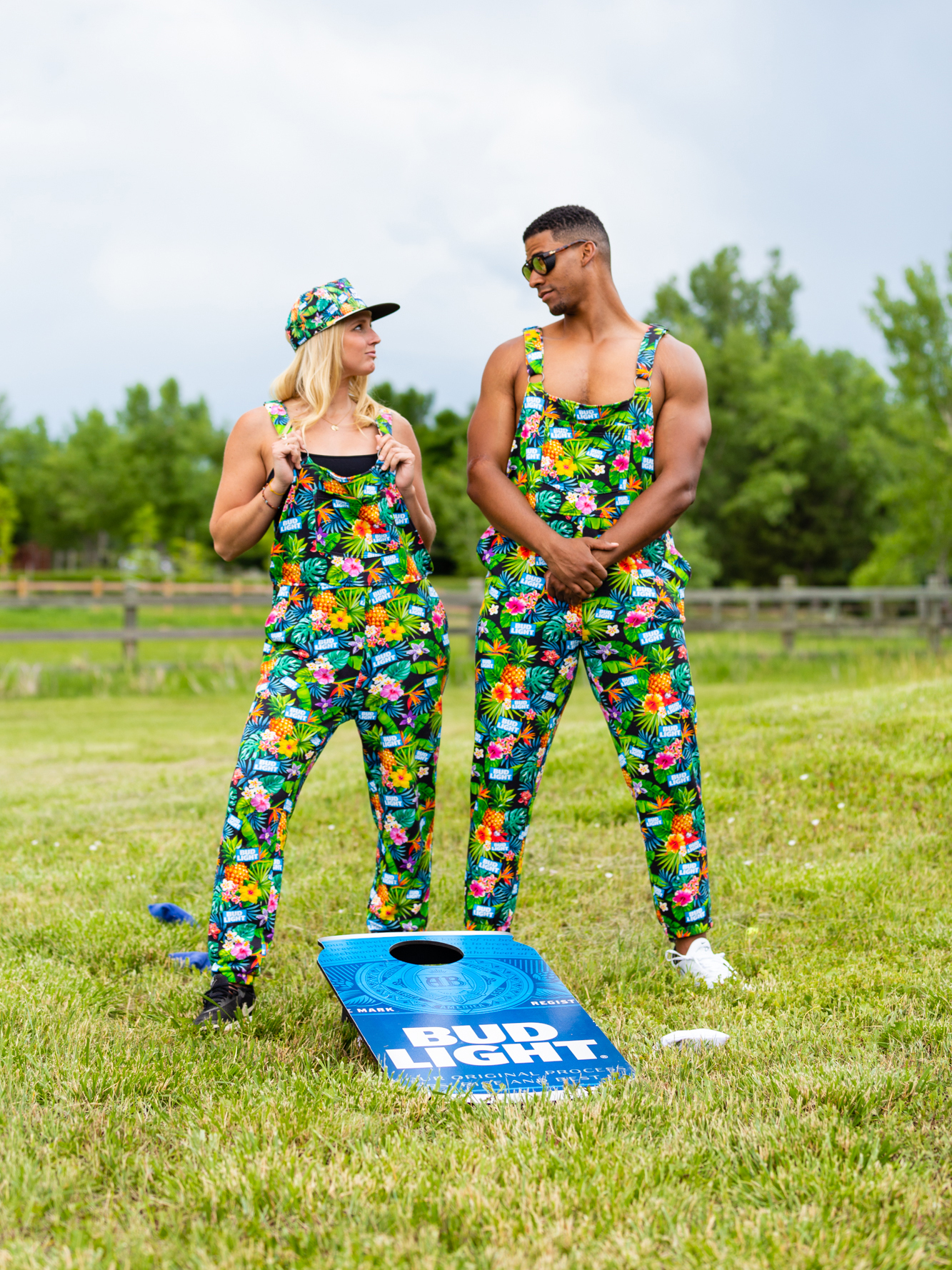 Bud Light's 'Pajameralls' Are Sure to Turn Heads At Your Next Cookout bud-light-pajameralls-VT-BLOG0719