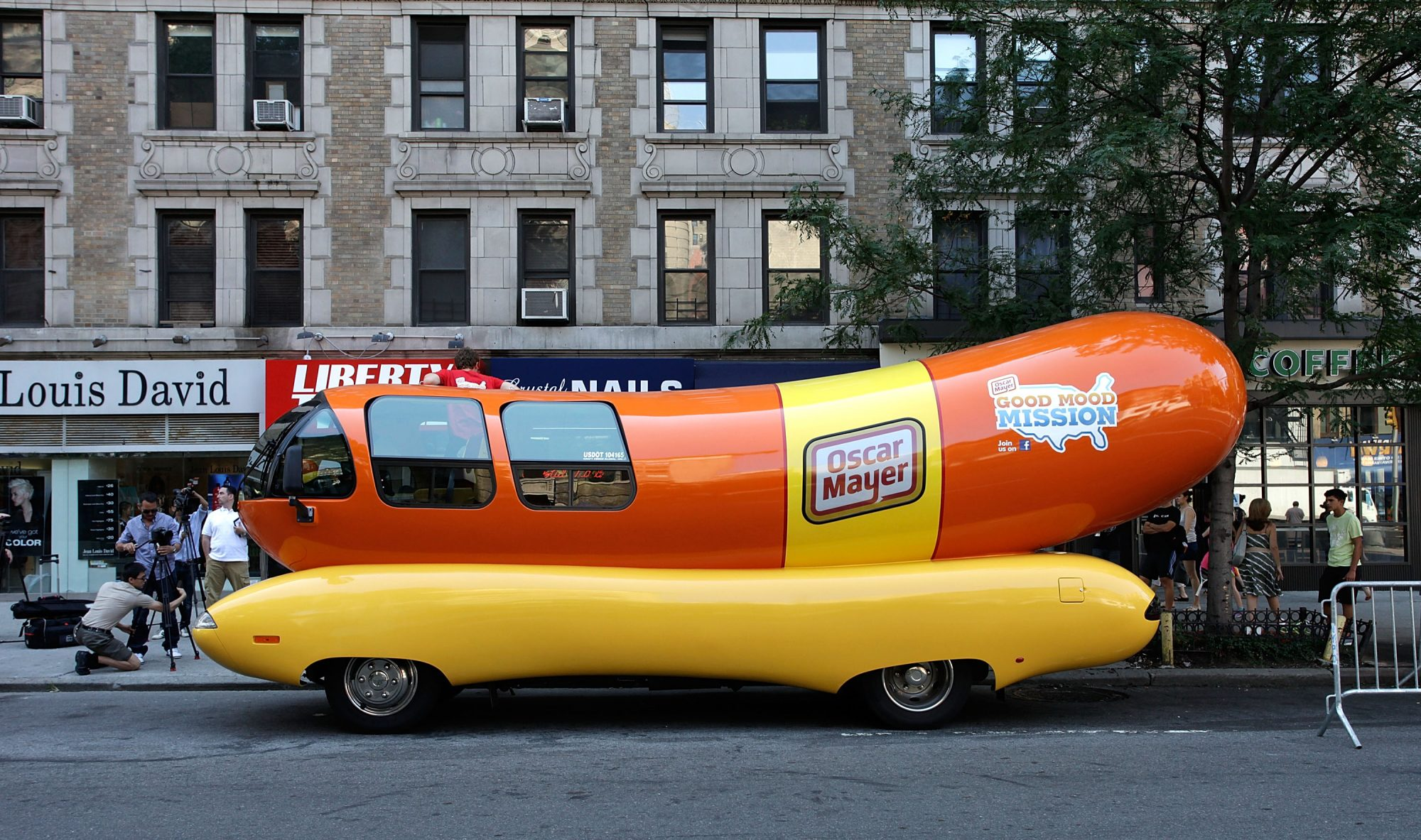 You Can Sleep in the Wienermobile at Lollapalooza