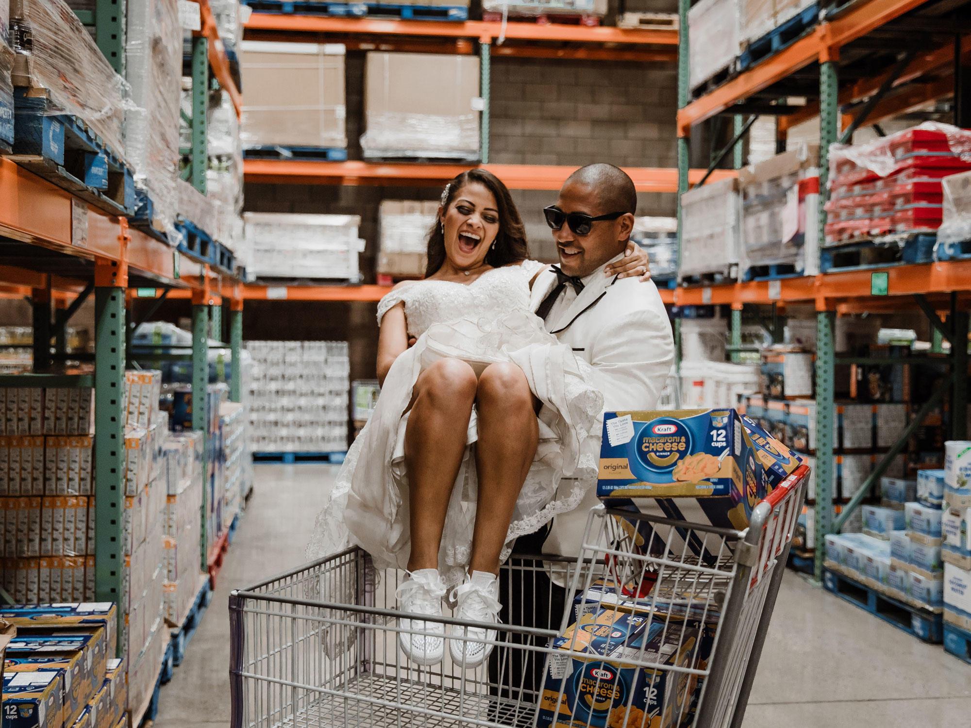 Costco wedding photos
