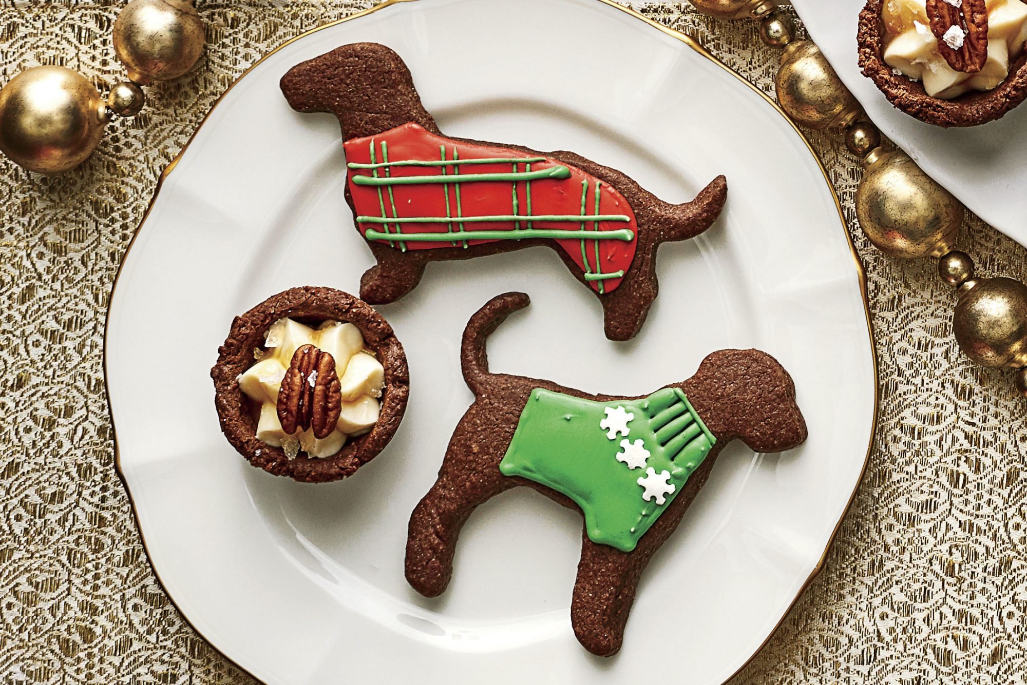 Dog Chocolate Sugar Cookies