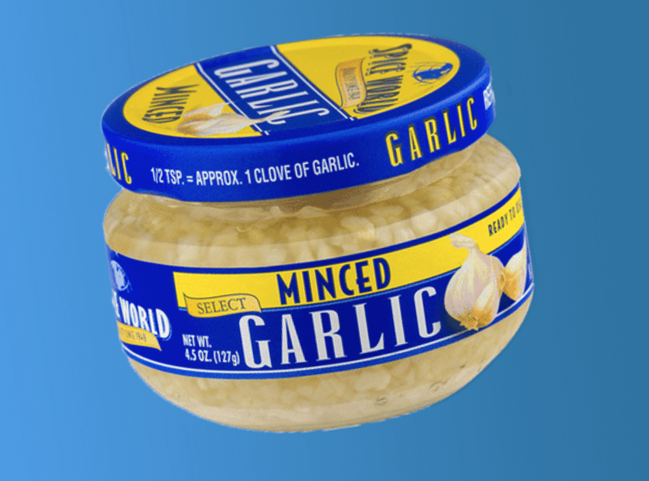 In Defense of Jarred Garlic