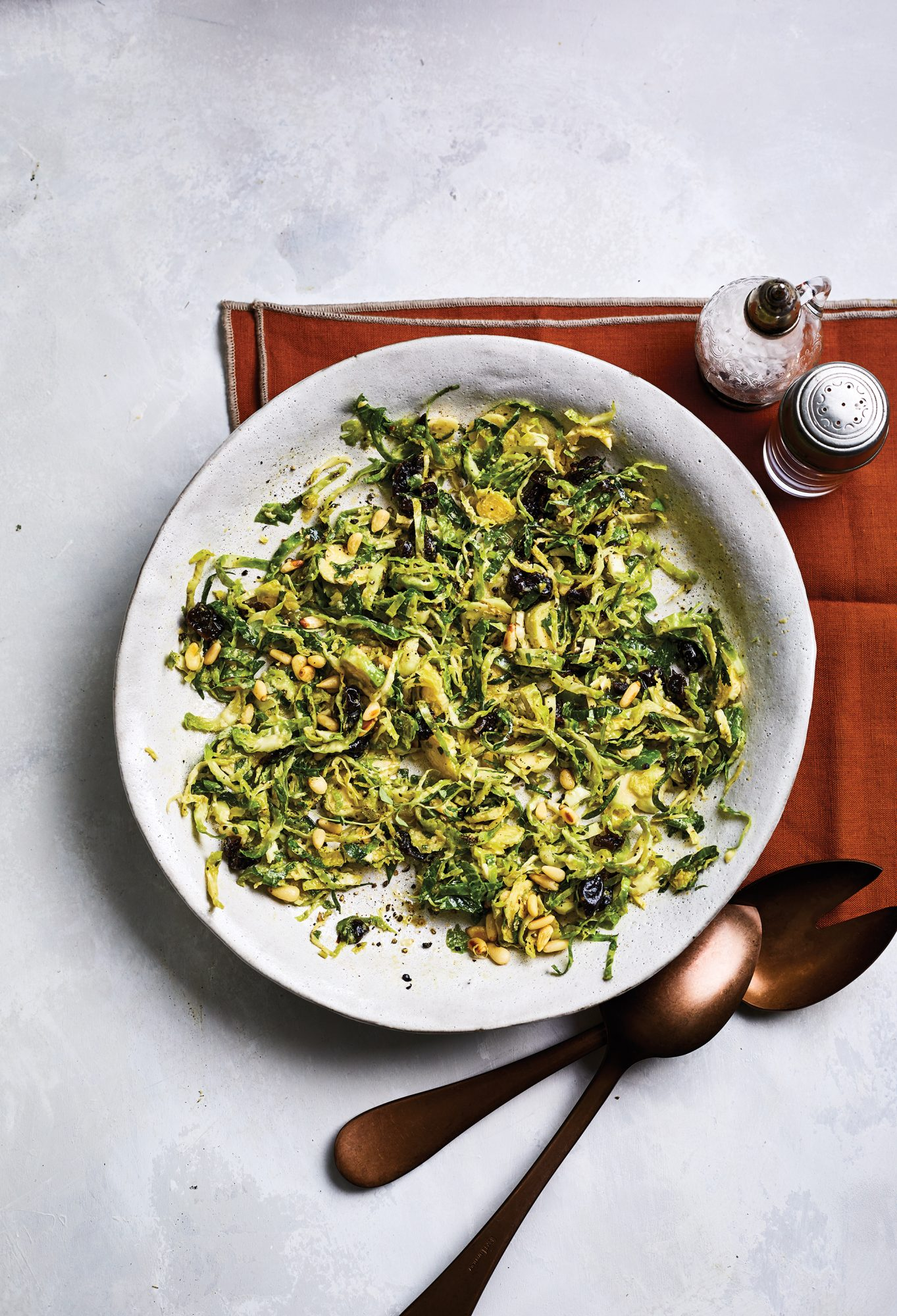 Brussels Sprout Slaw With Lemon and Pecorino