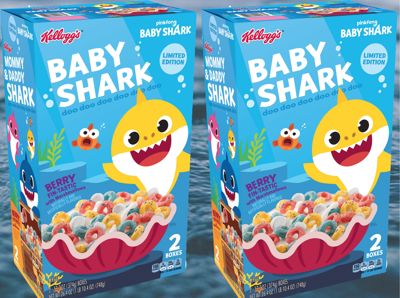 'Baby Shark' Cereal Is Happening Whether You Like It or Not