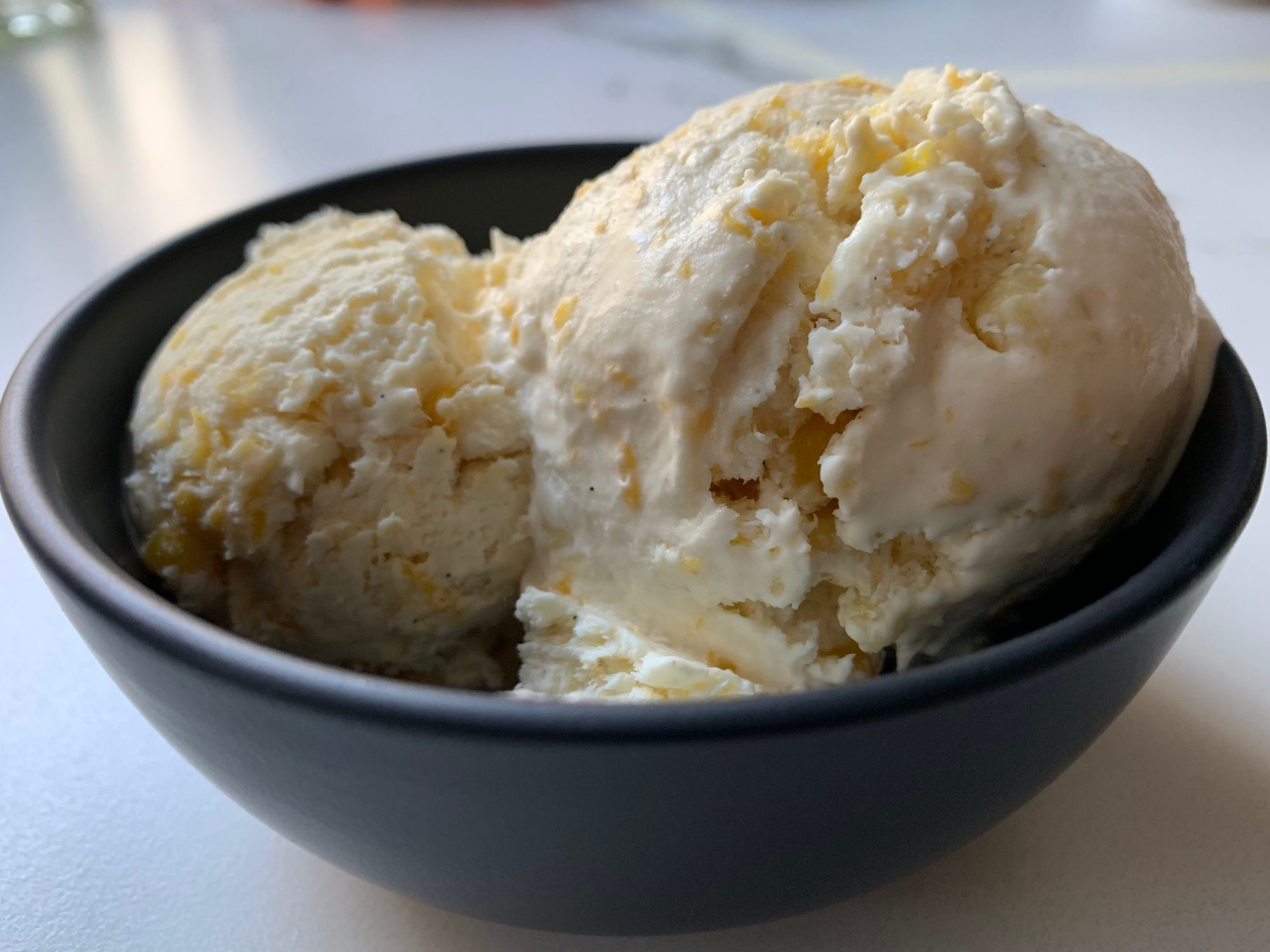 sweet corn no-churn ice cream 2
