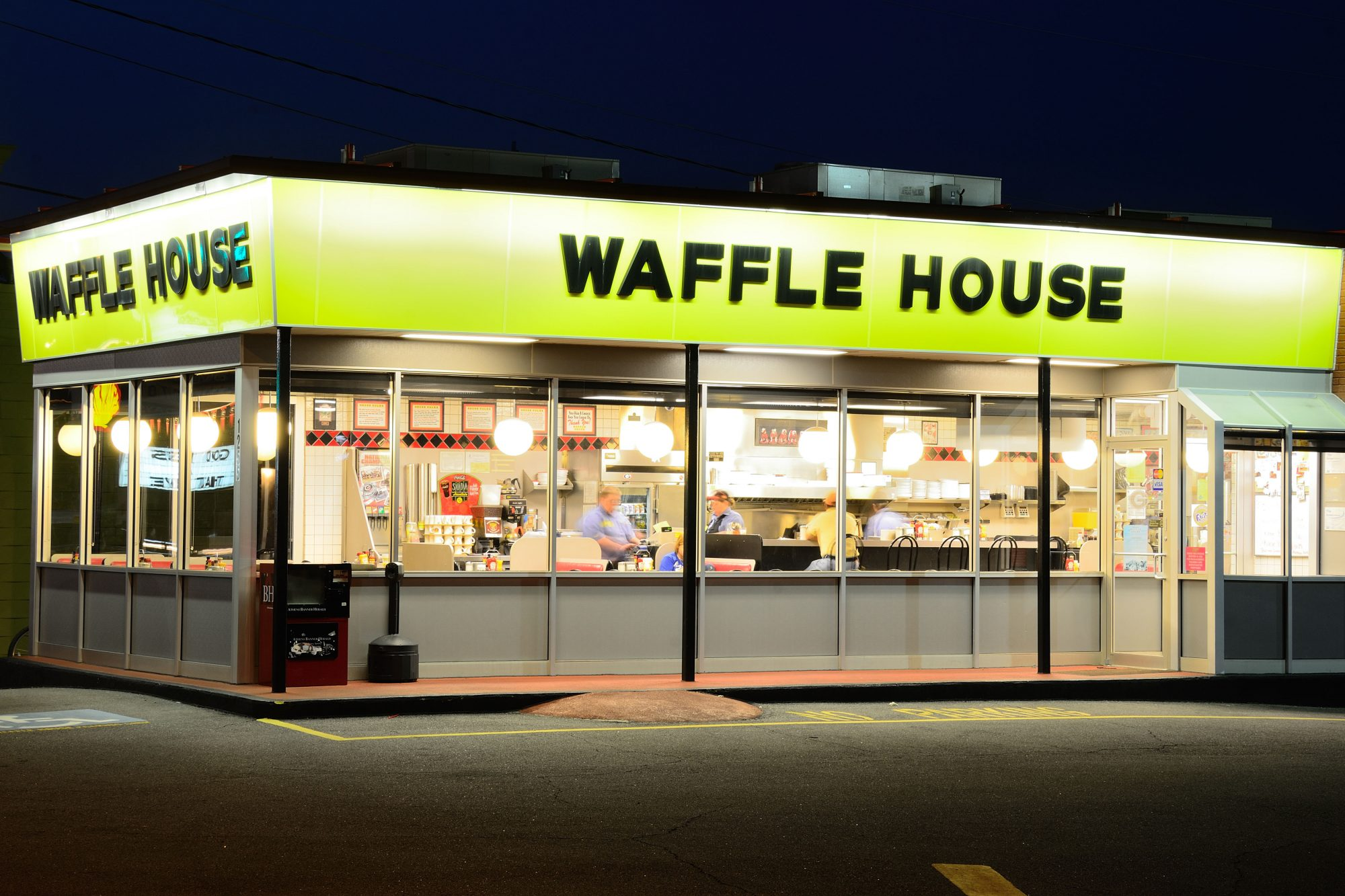 Waffle House Is Dimming the Lights and Taking Reservations for Valentine's Day