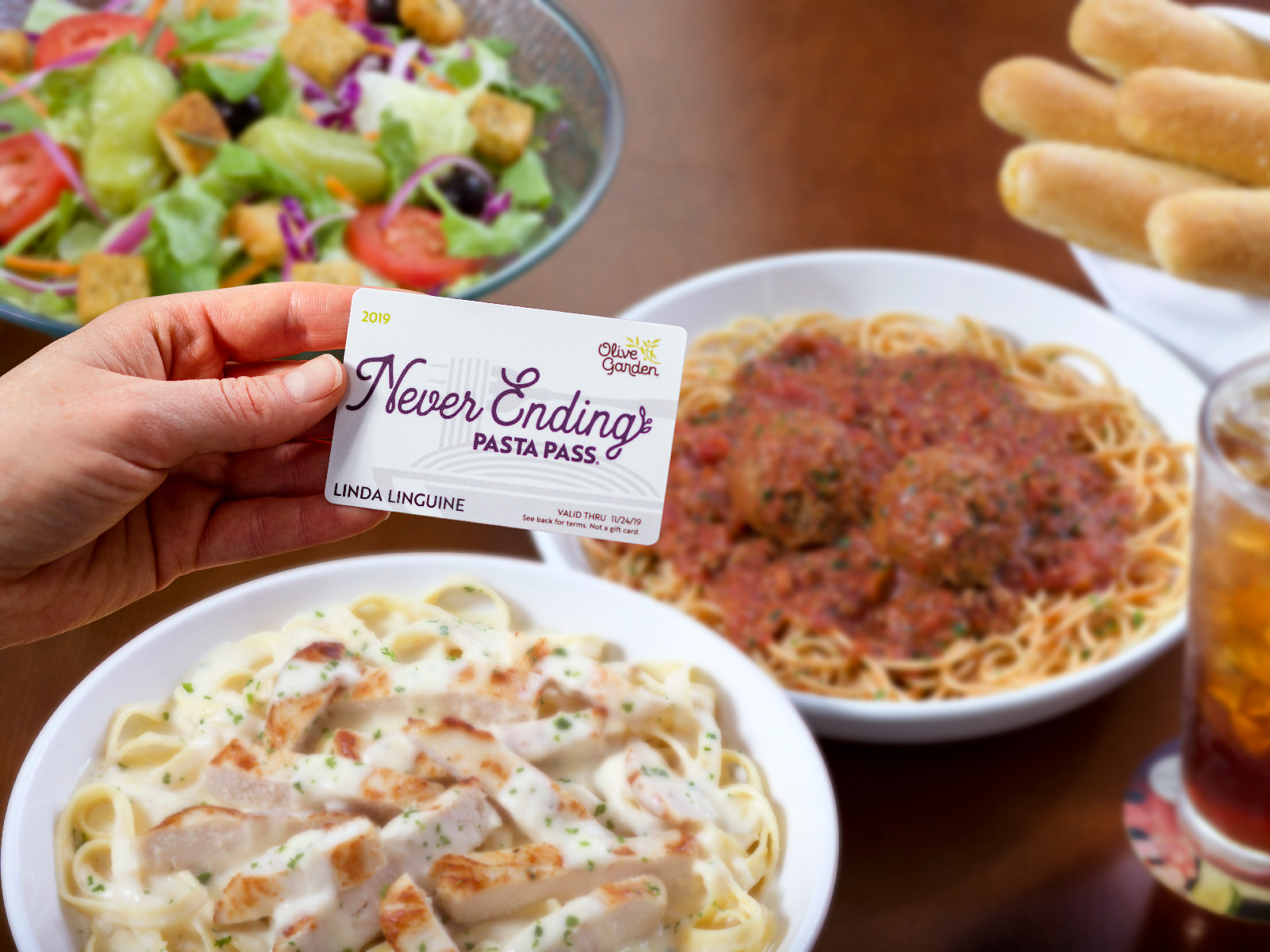 Olive Garden's Never Ending Pasta Pass: When and How to Buy Your Ticket to Carb Heaven for 2019
