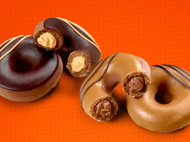 Krispy Kreme Turned Reese's Lovers Cups into Two New Doughnuts krispy-kreme-reeses-lovers-2-FT-BLOG0819
