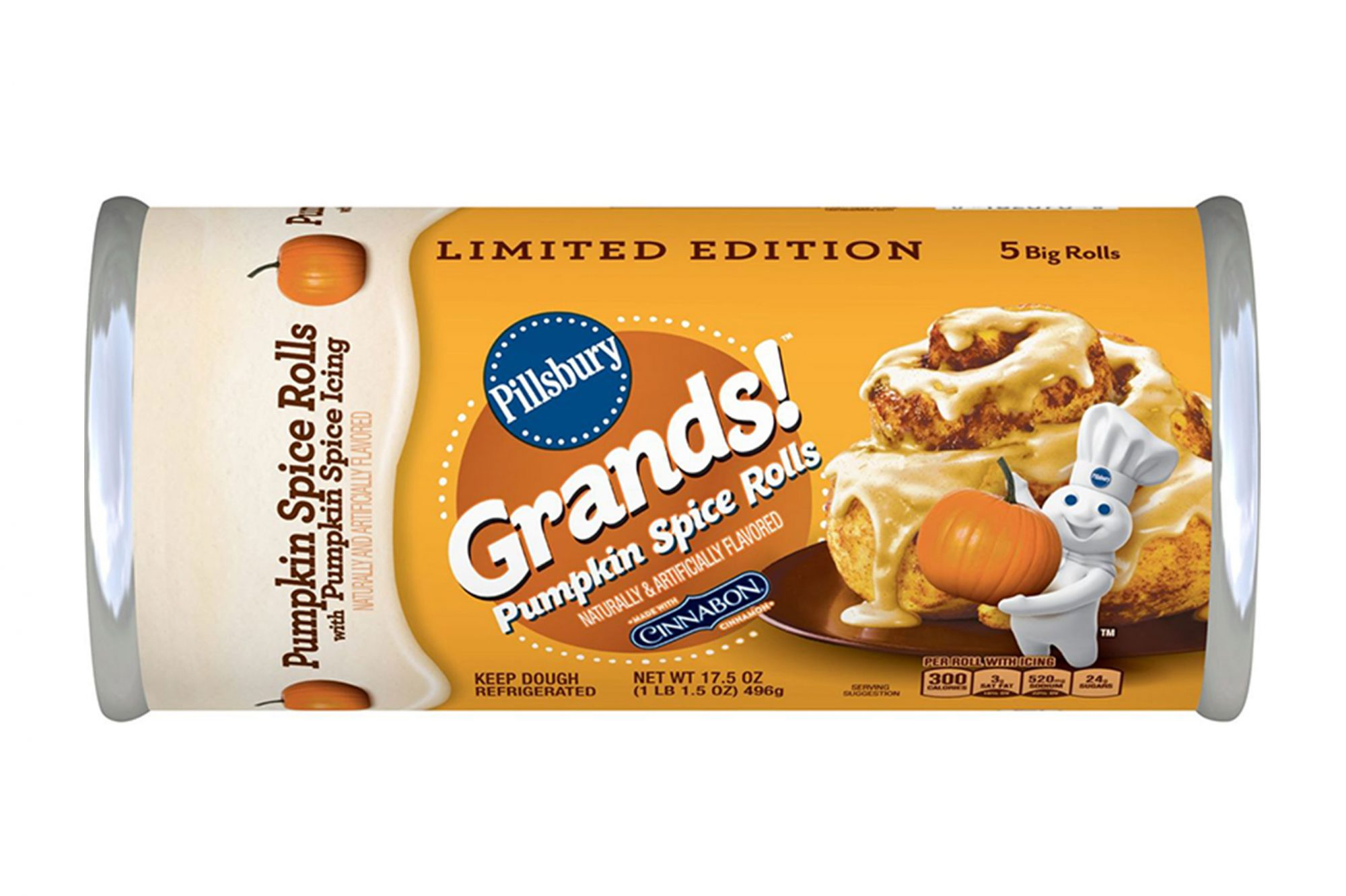 Pillsbury Pumpkin Spice Cinnamon Rolls Are Back in Stores