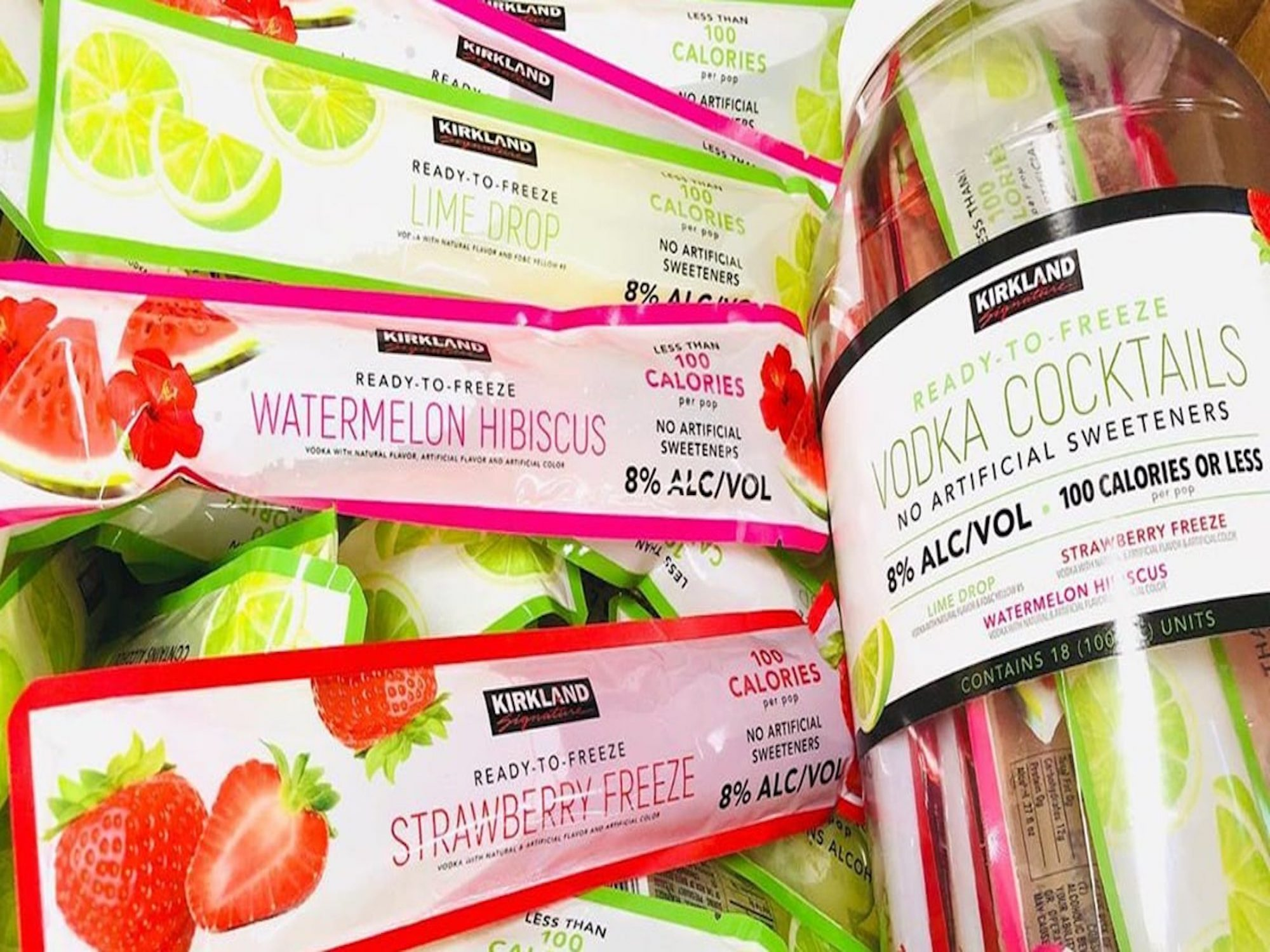 Costco Just Dropped New Boozy Popsicles