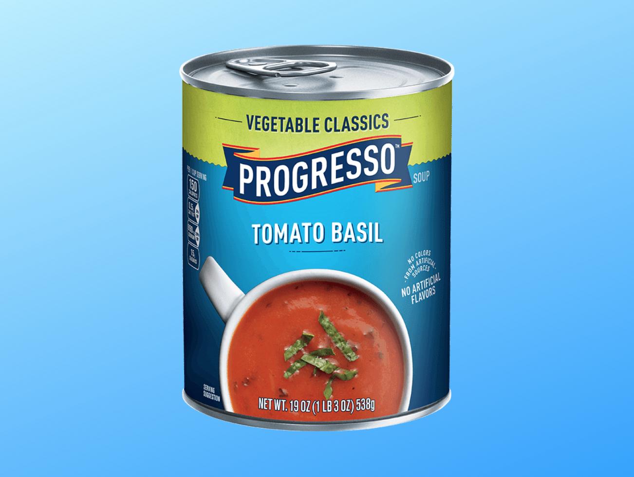 Progresso Tomato Basil