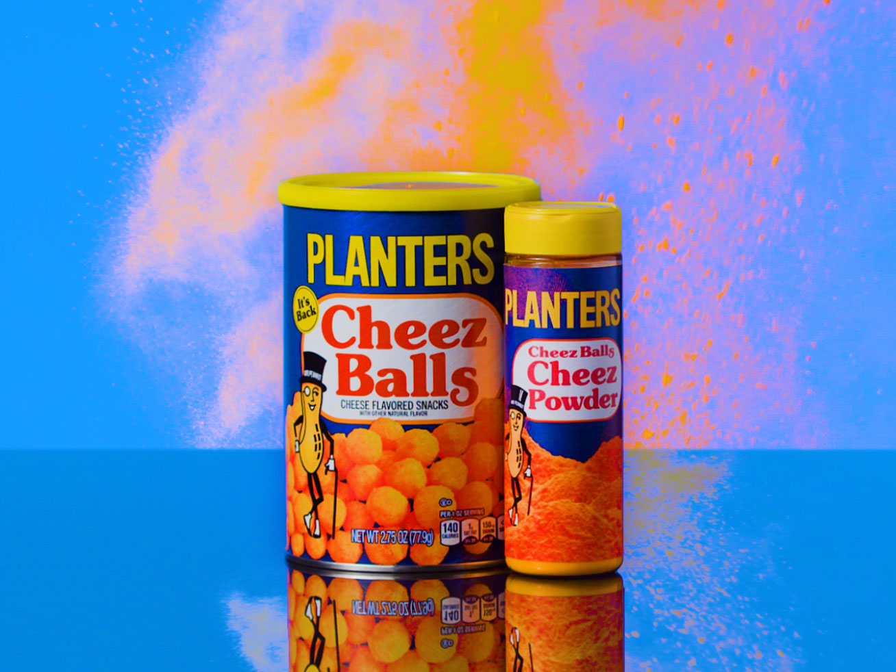Planters Cheez Balls Is Giving Away Shakers Full of That Orange Dust